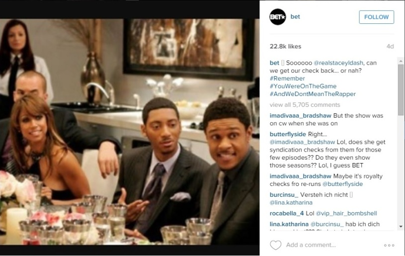 BET's Response to Stacey Dash on Instagram Clipping - 01-20-2016