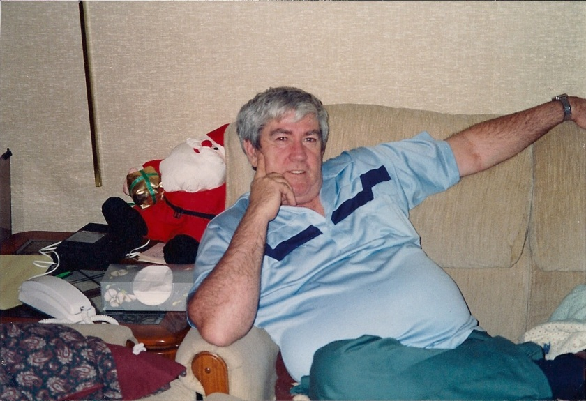 Dad on the couch - circa 1992