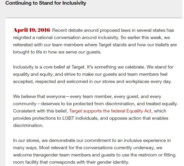 Target Press Release Part 1 - Clip 1 - 04-19-2016
