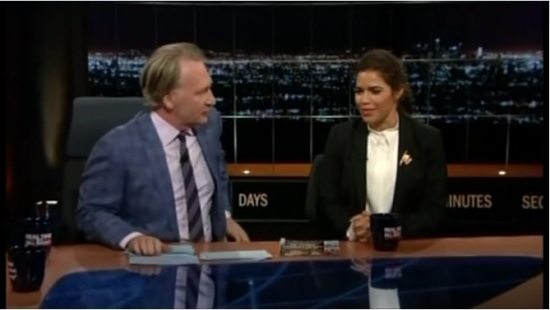 America Ferrera on Real Time with Bill Maher Full Screenshot - Pic - 07-22-2016