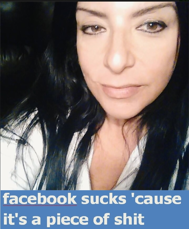 Politically Correct Feminist/Social Justice Warrior Susan D'Angelo and Facebook Sucks Pic