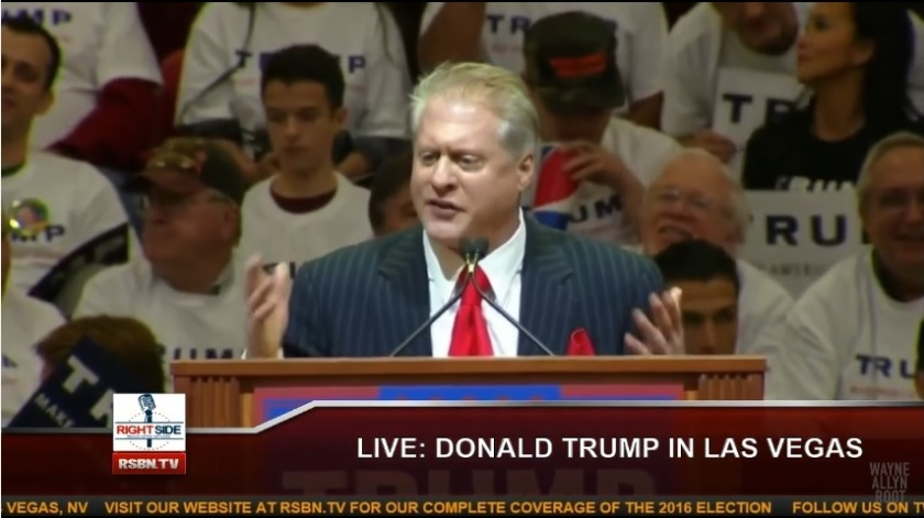 Wayne Allyn Root's February 22nd Trump Rally Opening Speech