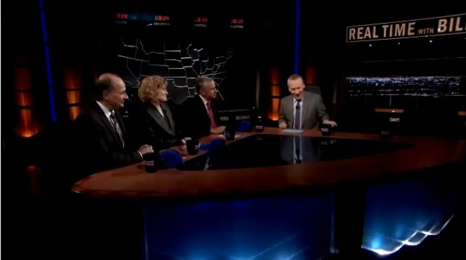 Real Time host Bill Maher, David Axelrod, Ana Marie Cox, and Thomas L. Friedman on President-elect Trump and the 2016 Election.