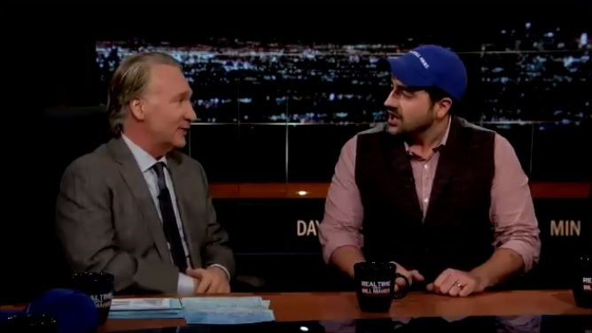 Real Time with Bill Maher host Bill Maher Interviews Liberal Redneck and Stand-Up Comic Trae Crowder 1-11-11-2016